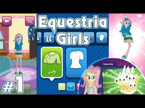 Следуй за белым кроликом - игра Equestria Girls - #1