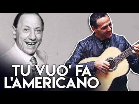TU VUO' FA' L'AMERICANO - R. CAROSONE - DIVERTIAMOCI CON LA CHITARRA