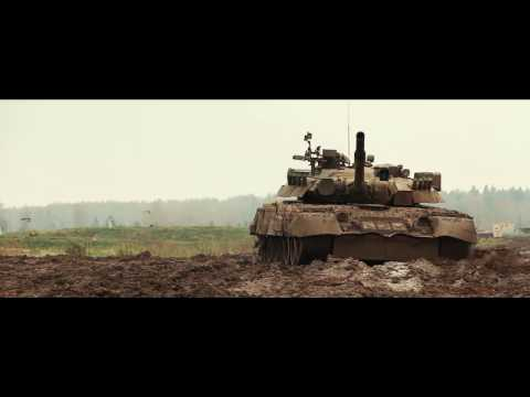 Т-80У танк. Фильм.
