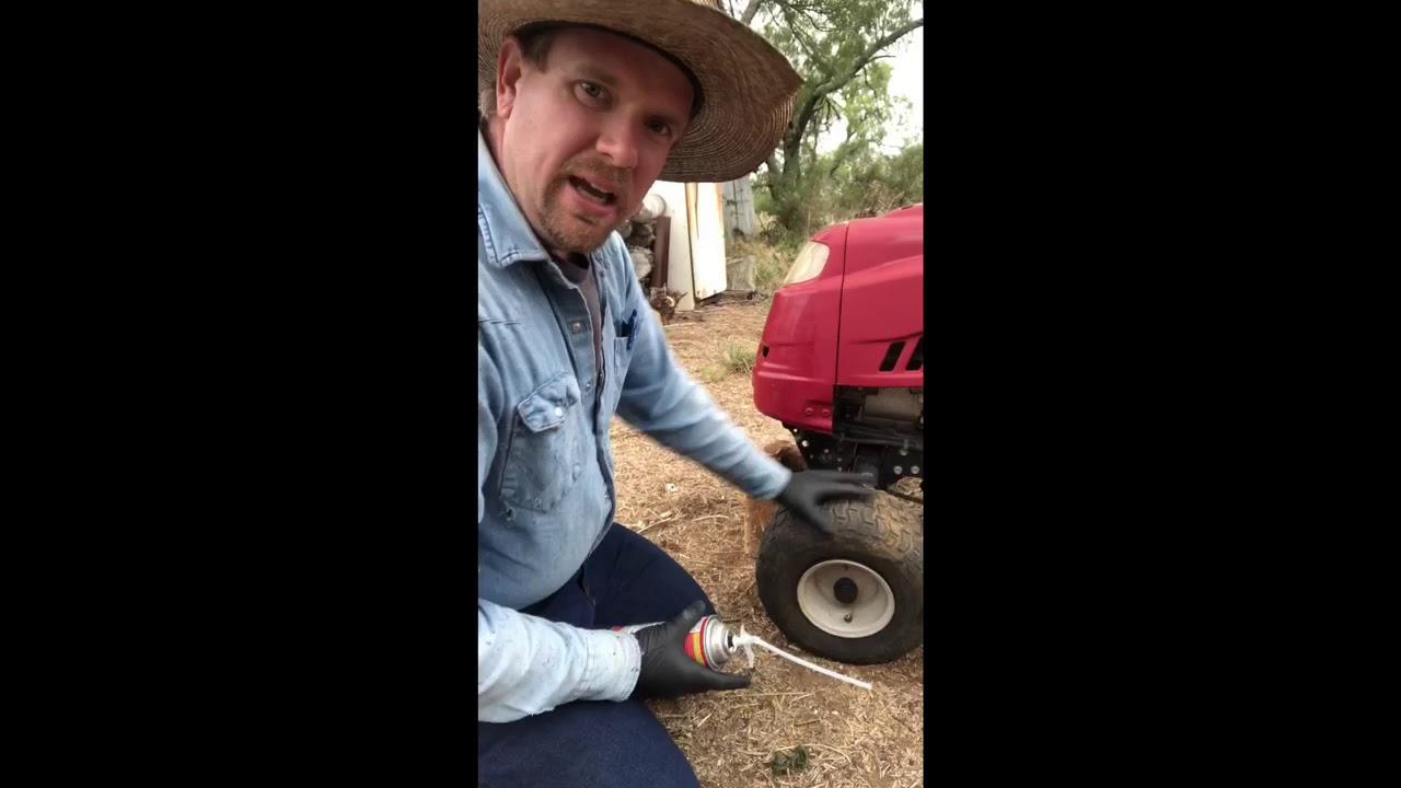 DIY foam filled lawn mower tires part 1 - YouTube