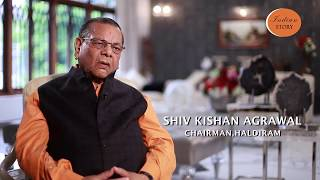 INDIAN STORY TRAILOR SHIV KISHAN AGRAWAL CHAIRMAN, HALDIRAM