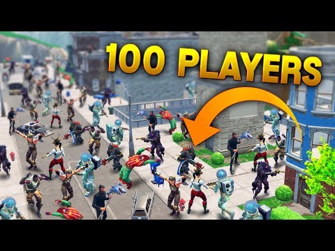 100 PLAYERS IN TILTED TOWERS.. |Fortnite Funny and Best Moments Ep.88 (Fortnite Battle Royale)