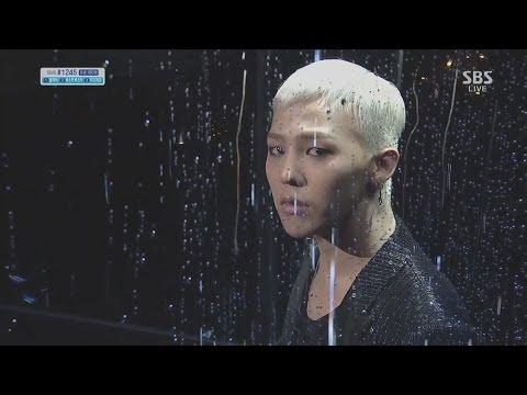 G-DRAGON_1013_SBS Inkigayo_BLACK(Feat. JENNIE KIM of YG New Artist)