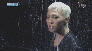 Repeat youtube video G-DRAGON_1013_SBS Inkigayo_BLACK(Feat. JENNIE KIM of YG New Artist)
