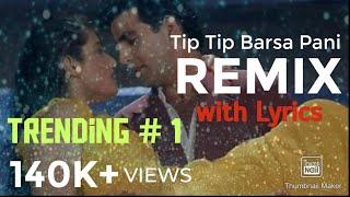 Tip Tip Barsa Pani Remix | Instrumental| Karaoke| Mohra