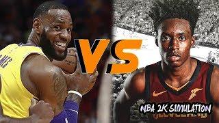 Los Angeles Lakers vs Cleveland Cavaliers - Full Game | Nov 21, 2018 | NBA 2k19