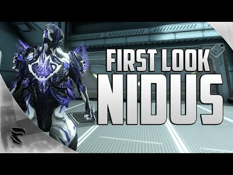 Warframe: First look at Nidus and his Weapons