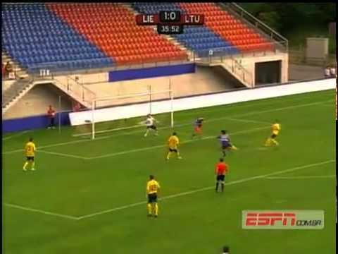 Liechtenstein 2 0 Lithuania Group I Qual  Maç Özeti Canlı İzle Video Maxgol Com   Euro 2012