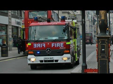 London Fire Brigade Pump Soho