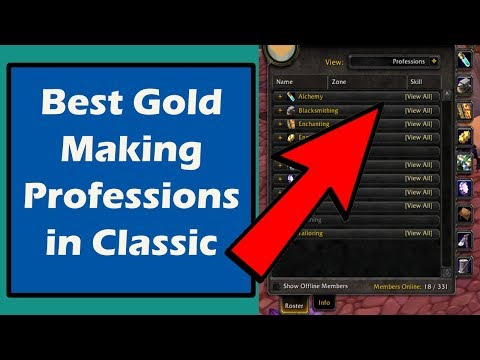 Classic WoW Professions Ranked   Best Gold Making Profession in Classic