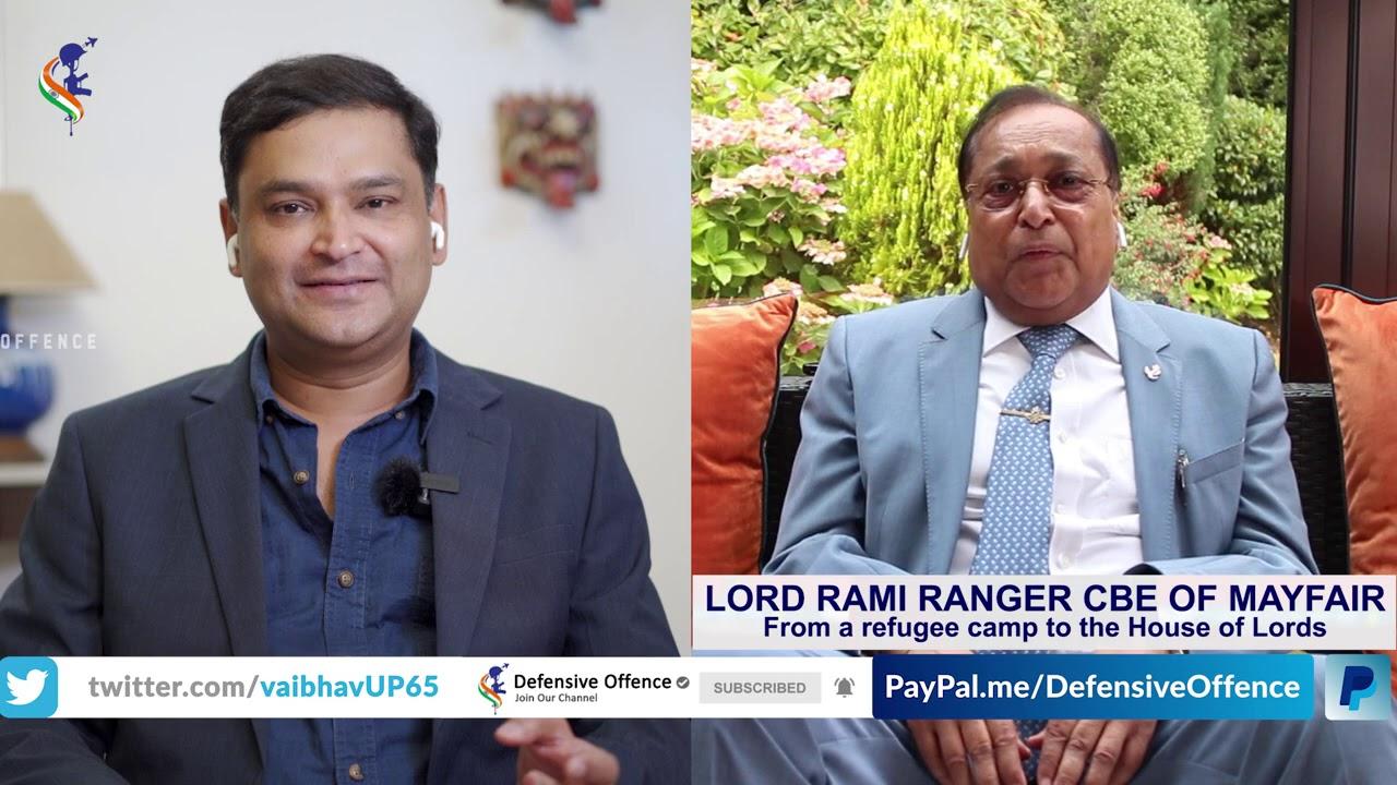Major Gaurav Arya Speaks to Lord Rami Ranger CBE