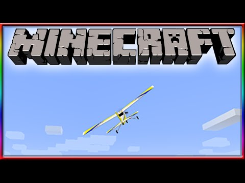 MINECRAFT FLYING RC PLANE