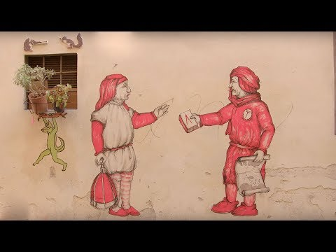 Speaking with the walls: street art festival in Florence