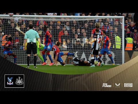 Crystal Palace 1 Newcastle United 1 | Premier League Highlights