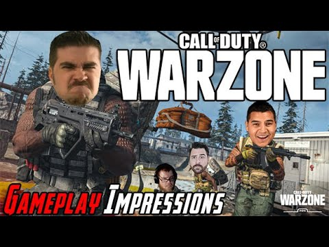 AngryJoe Plays Call of Duty: Warzone!