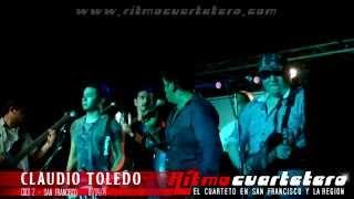 Claudio Toledo - Infierno/Amame/Dos corazones rotos/Tu amor me duele/Sueño su boca - 01/04/14