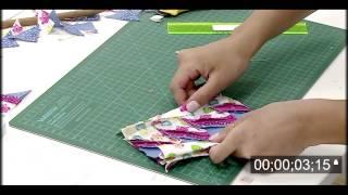 Aprenda a fazer barrados com tiras de tecidos