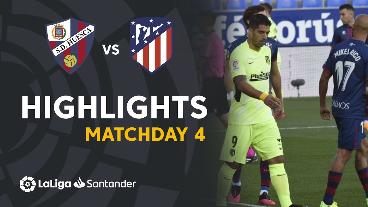 Highlights SD Huesca vs Atlético de Madrid (0-0)