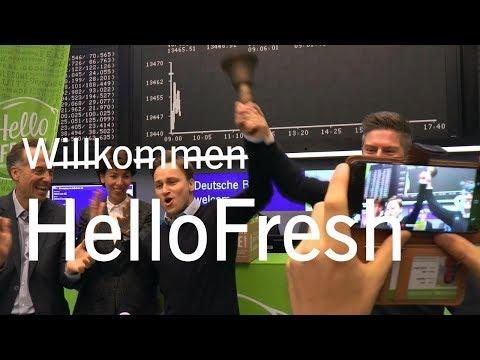Börsengang (IPO) HelloFresh SE
