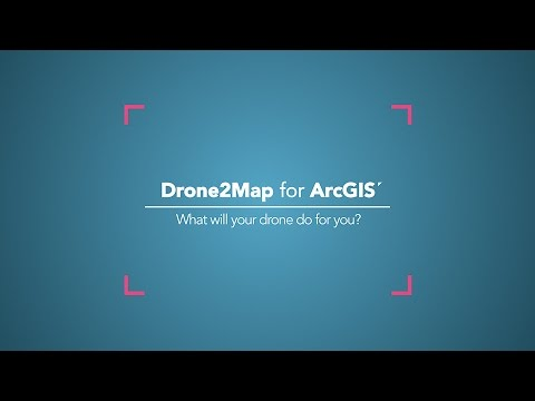 Introducing Drone2Map for ArcGIS