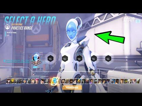 Download Overwatch - Echo Gameplay - New Hero! Ultimate Included