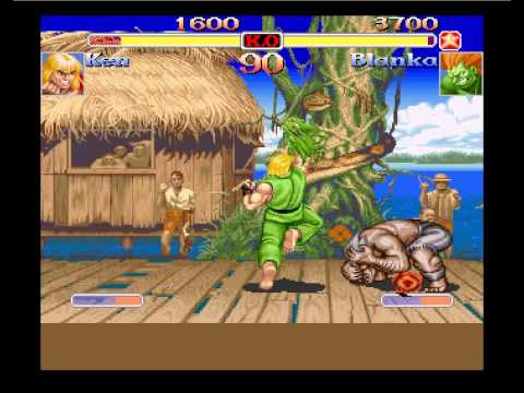 Super Street Fighter 2 Turbo For Amiga CD32