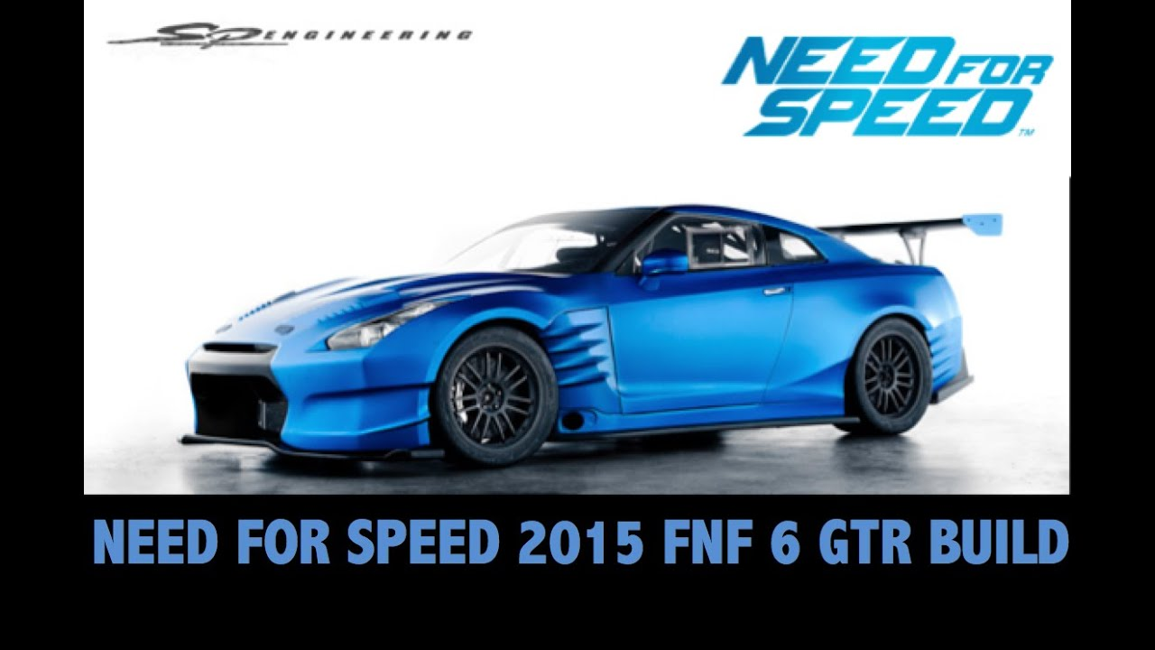 need for speed 2015 fast and furious 6 brian 39 s nissan gtr r35 youtube. Black Bedroom Furniture Sets. Home Design Ideas