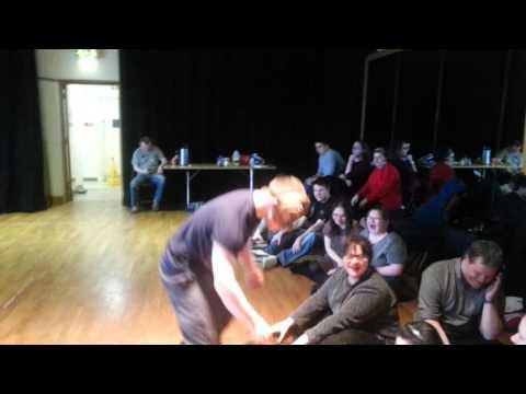 Stage Beyond Mask Workshop with Simon Thompson & Joe Devlin