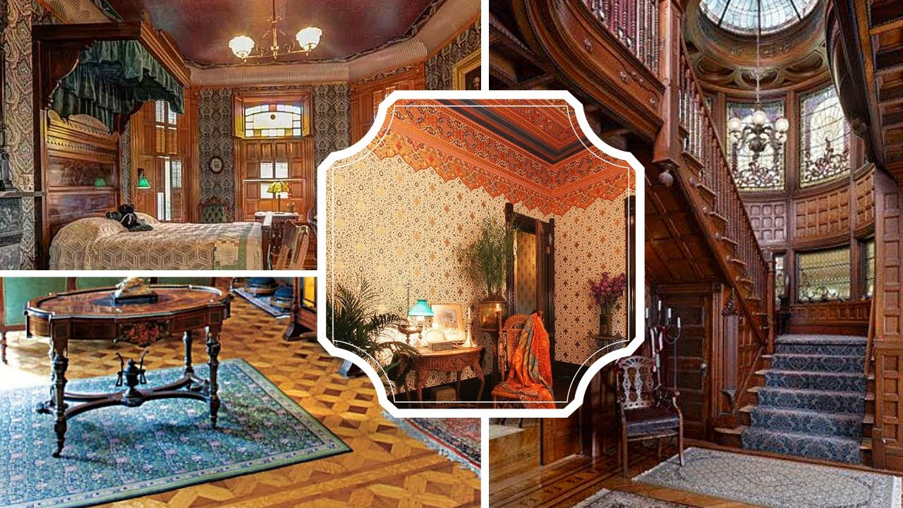 Inside Victorian Homes Victorian Interior Design Youtube