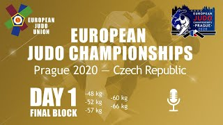 Day 1: Finals - European Judo Championships 2020