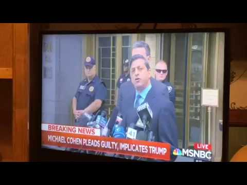 Michael Cohen Pleads Guilty, Implicates Trump, Nancy Pelosi Says Culture Of Corruption Exists