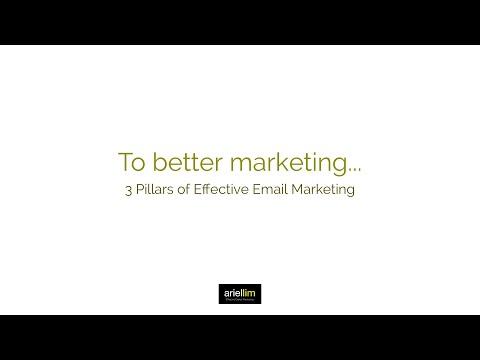 1MMV 017 - 3 Pillars of Effective Email Marketing