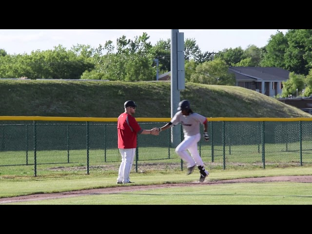 Devario Allen Michigan Braves Home Run