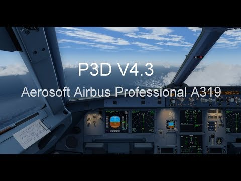 P3D V4 3 Aerosoft Airbus A319 Professional take off from Colombo