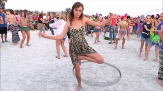 Siesta Beach - Amazing Hoop Dance