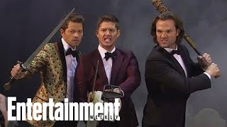 'supernatural' suits up for untold stories: halloween edition | cover shoot | entertainment weekly