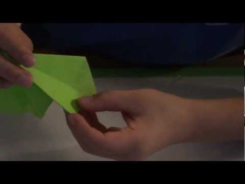 How To Fold An Origami Tree