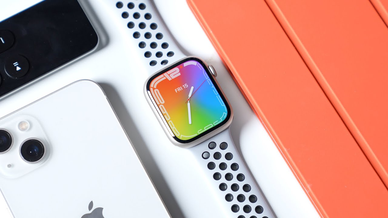 Download Apple Watch Series 7 First Impressions (Starlight Nike Edition)