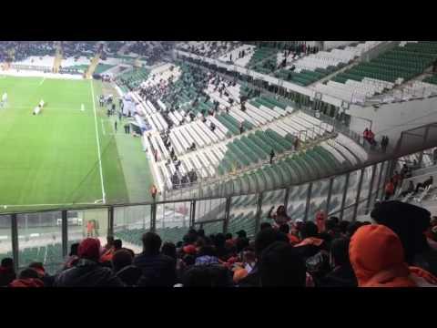 Adanaspor Bursa deplasmanı Timsah arena ÖLÜMÜNE BURDAYIZ