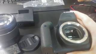 카알못의 캐논 EOS 800D 개봉기