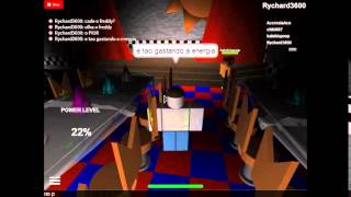 Roblox - 5 NIGHTS OF FREDDY - Game de Terror