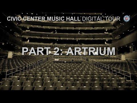 Civic Center Music Hall - Atrium