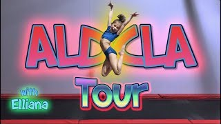 I SNUCK into ABBY LEE MILLER's studio to make this TOUR!