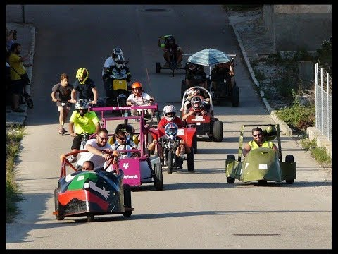BAIXADA CARRETONS SON MACIA 2017 soapbox downhill derby descenso carrilanas goitiberas autos locos