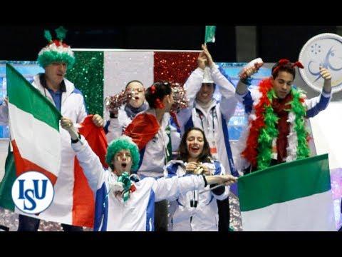 Hilarious Team Italy at ISU World Team Trophy 2012