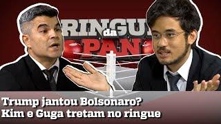 TRUMP jantando BOLSONARO? Kim Kataguiri e Guga Noblat tretam em discussão | RINGUE DA PAN #7