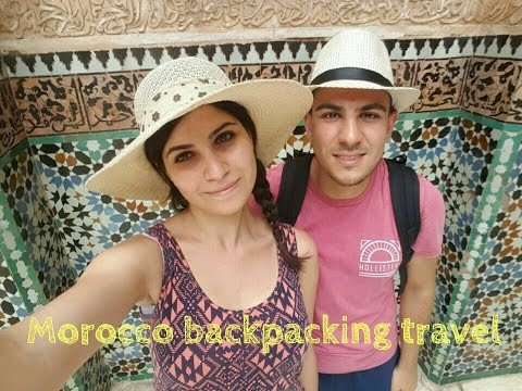 Morocco backpacking travel 2016