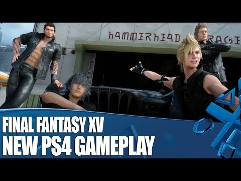 Final Fantasy XV New PS4 Gameplay - We've Played It!