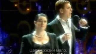 Тамара Гвердцители Ии Дмитрий Дюжев песня из кинофильма шербурские зонтики