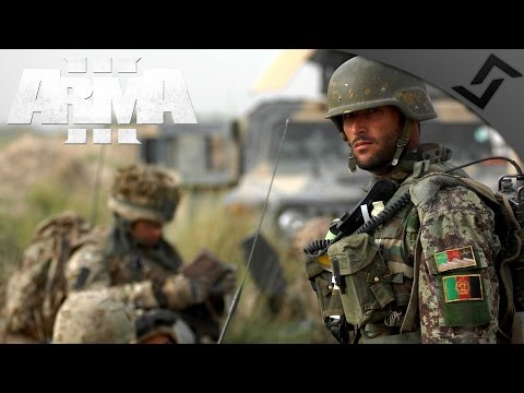 Afghan National Army & Police in Takistan - ARMA 3 Zeus Gameplay